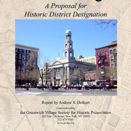 GVSHP's report: The South Village: A Proposal for Historic District Designation