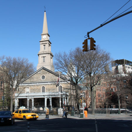 St. Mark's Church in the Bowery