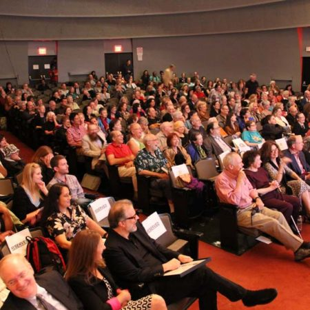 Audience members at the GVSHP Annual Meeting.