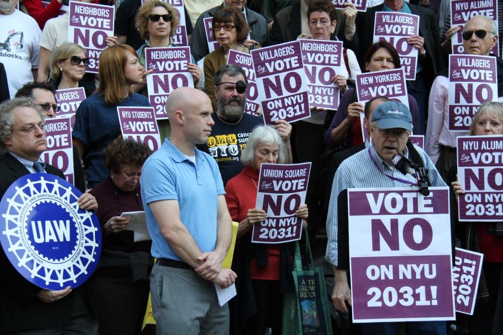 NYU Vote No On 2031