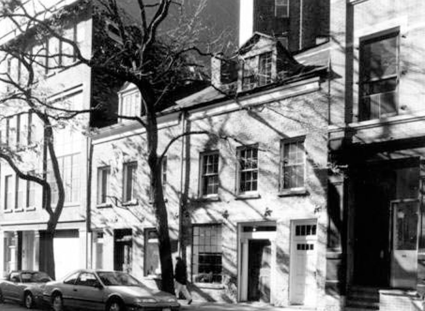 The Federal Era Row House