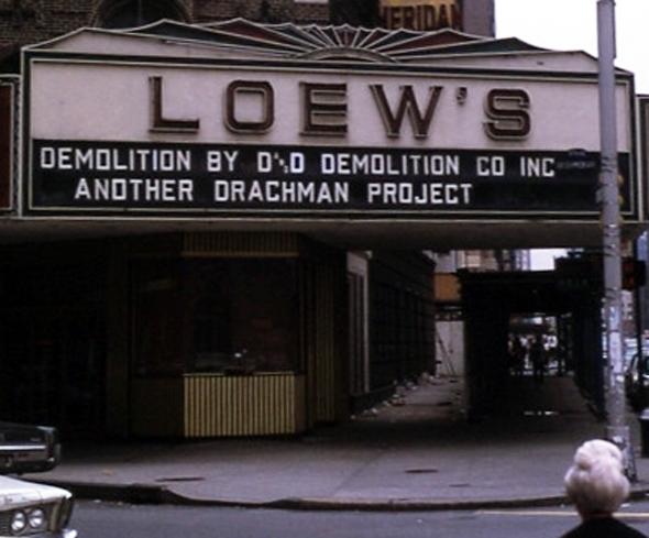 Loew's Sheridan Demolition