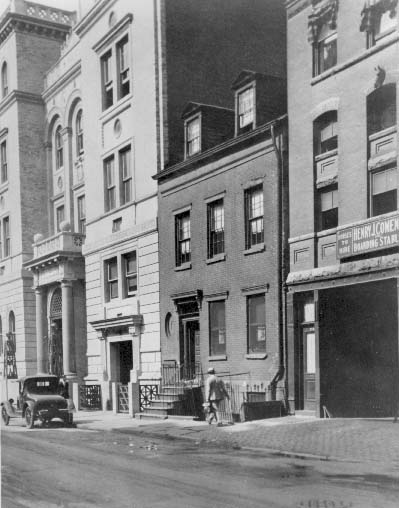 An old photograph can help you find out more about the history of your building.