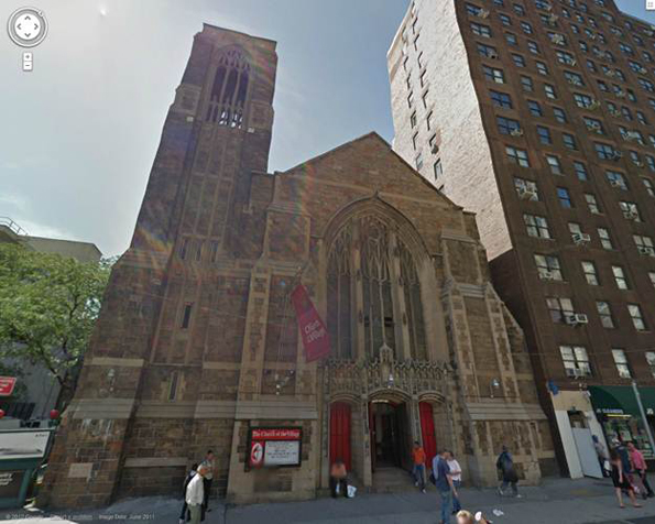 Church of the Village at 13th Street and 7th Avenue, the birthplace of PFLAG.