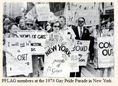 PFLAG members at the 1974 Gay Pride Parade in New York (2)