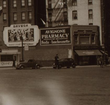 The Avignone brothers built this building on 6th Avenue and Bleecker Street in 1929.