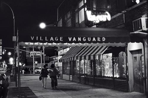 The Village Vanguard has been open in its present location since 1935. Photo via Inverted Garden.