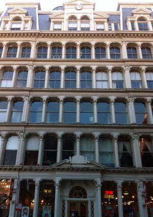 1-5 Bond Street facade.