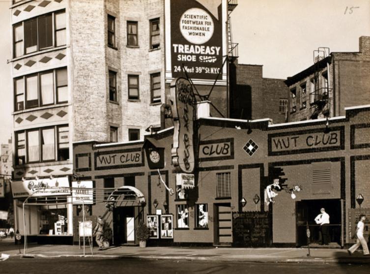 The Nut Club ca. 1940. Image via NYPL.