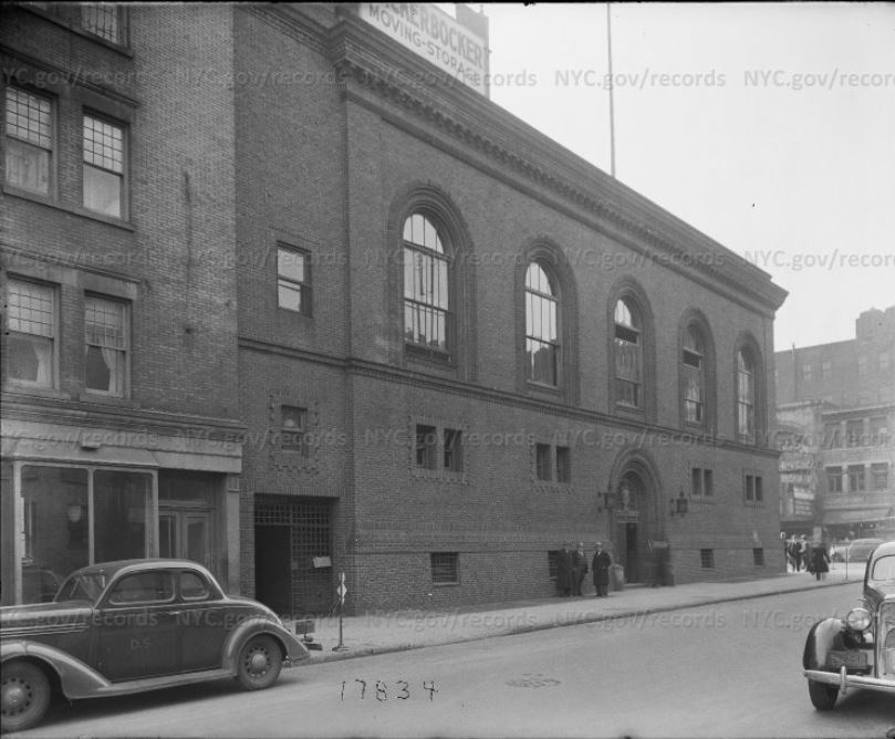 Magistrates' Court, 2nd Avenue and 2nd Street, 1938. Source: Municipal Archives.