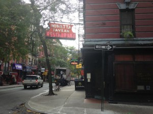 The Minetta Tavern opened at 111 MacDougal Street in 1937.