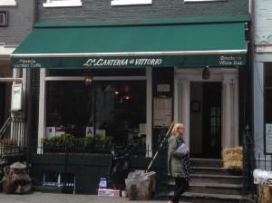 129 MacDougal Street, former home to the Eve Addams Tearoom.
