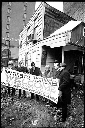 Bernhard Homestead Welcome 1967 - from Linda Yowell