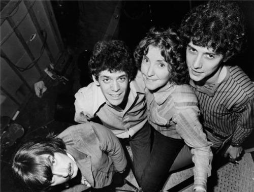 (1966) The Velvet Underground. Photo by Lynn Goldsmith.