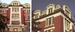 P.S. 64 before it was allowed to fall into disrepair