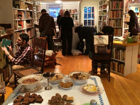 The new Bonnie Slotnick Cookbooks located at East 2nd Street