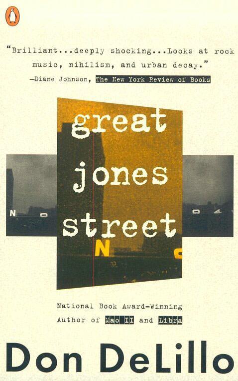 Great Jones Street by Don Delillo. Image courtesy of perival.com.
