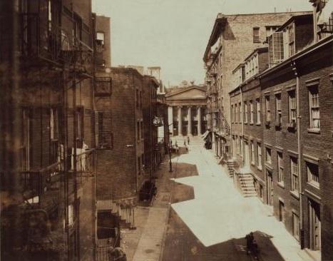 Minetta Street, circa 1925.  Photo courtesy of Ephemeral New York.
