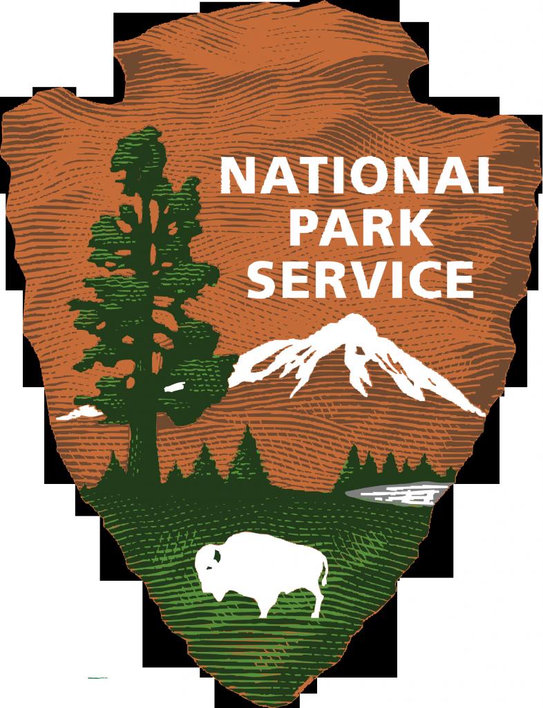 National Park Service logo.
