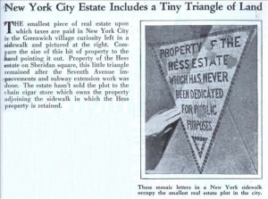 Image and text from July 27, 1922 NYTimes Artcle (via Modern Mechanix)