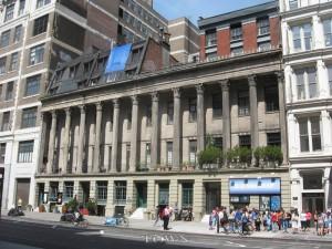 Colonnade Row. Image via Wikipedia