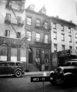Hamilton-Holley House in the 1930's. Image via NYC Department of Taxes
