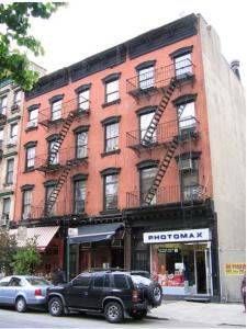 31-33 Carmine Street built c. 1859, pre-law tenements