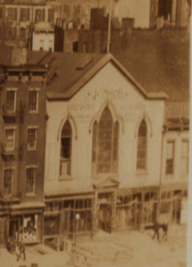1928 image of 323-325 6th Avenue, prior to its conversion to the Waverly in 1937