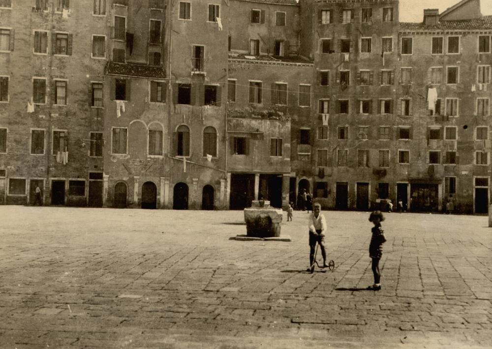 The Venice Ghetto, long after the walls were torn down. Via http://www.jewishlearningworks.org/events/2016/3/29/exhibition-opening-for-il-ghetto-the-venice-ghetto-at-500