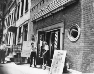 Playhouse Exterior 1950s