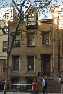 7 West 10th Street, Rectory of the Church of the Ascension, courtesy of Google Maps