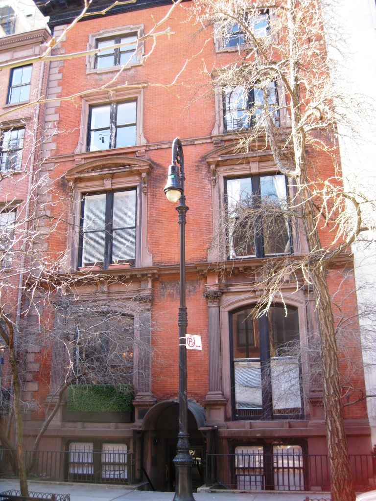 """14 West 10th Street, aka """"The House of Death."""" Photo courtesy of Daytonian in Manhattan."""