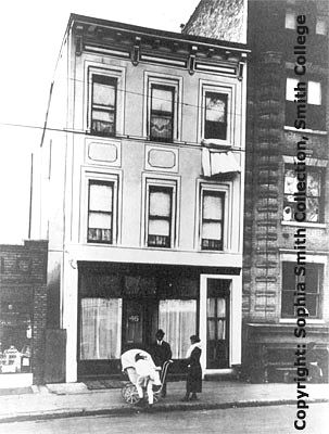 Margaret Sanger Clinic building exterior, Sophia Smith Collection, Smith College