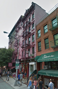 159 Prince Street. A pre-law tenement built in 1873 and designed by William Jose
