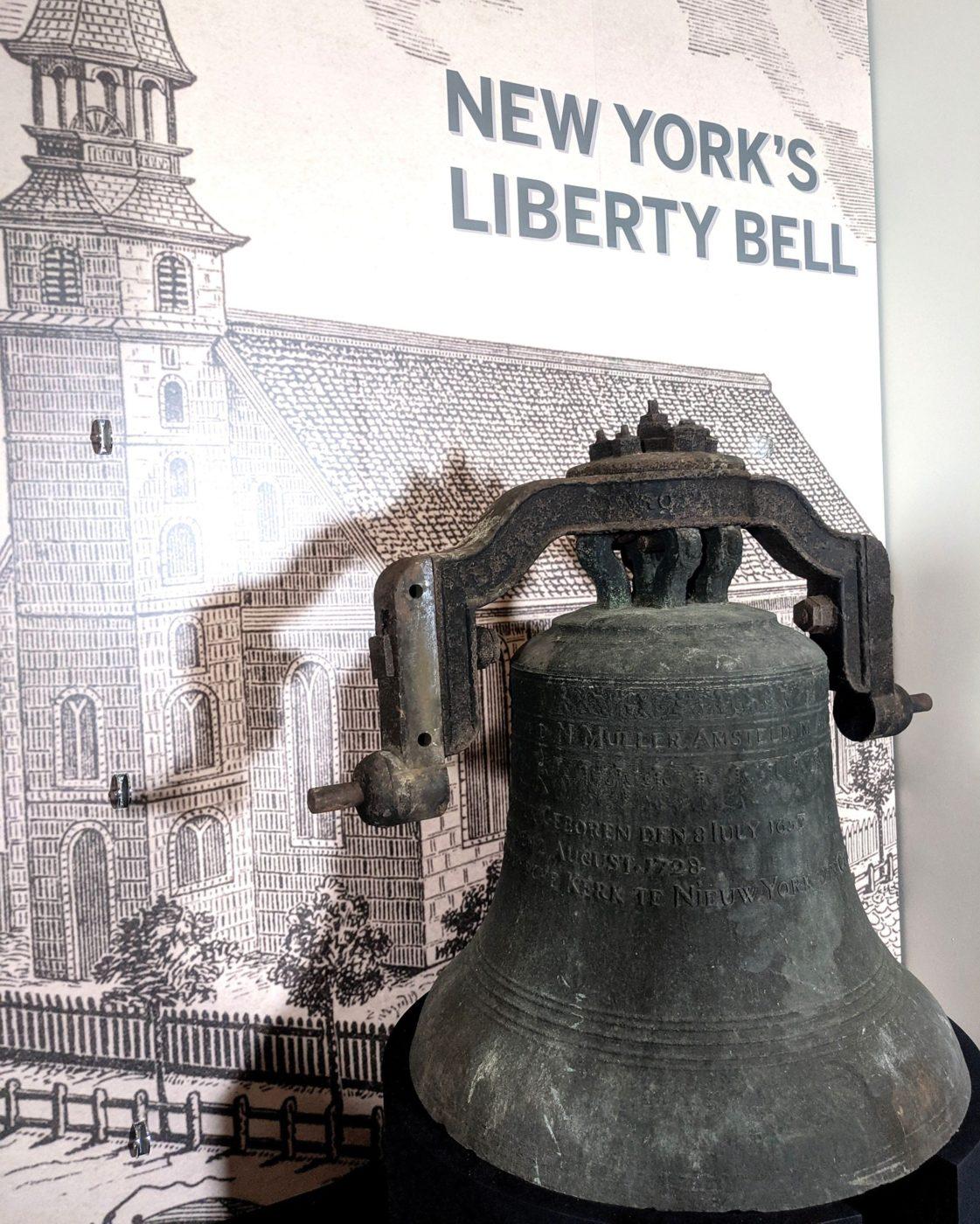 New York Liberty Bell at New-York Historical Society