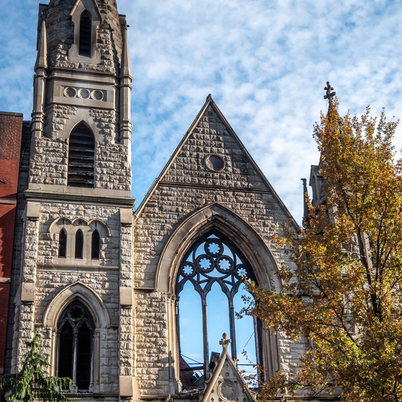 Middle Collegiate Church After Fire