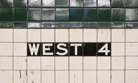 West 4th Street Station Tiles
