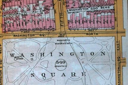 Screenshot: Bromley's Manhattan Atlas 1921