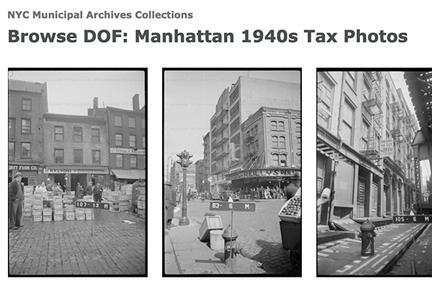 Screenshot: NYC Municipal Archives Tax Photos, 1940s