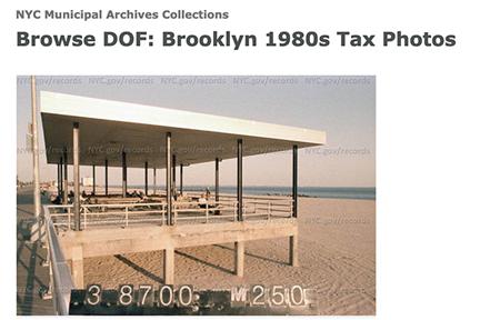 Screenshot: NYC Municipal Archives Tax Photos, 1980s