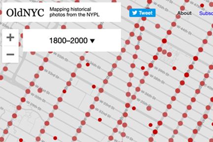 OldNYC website screenshot