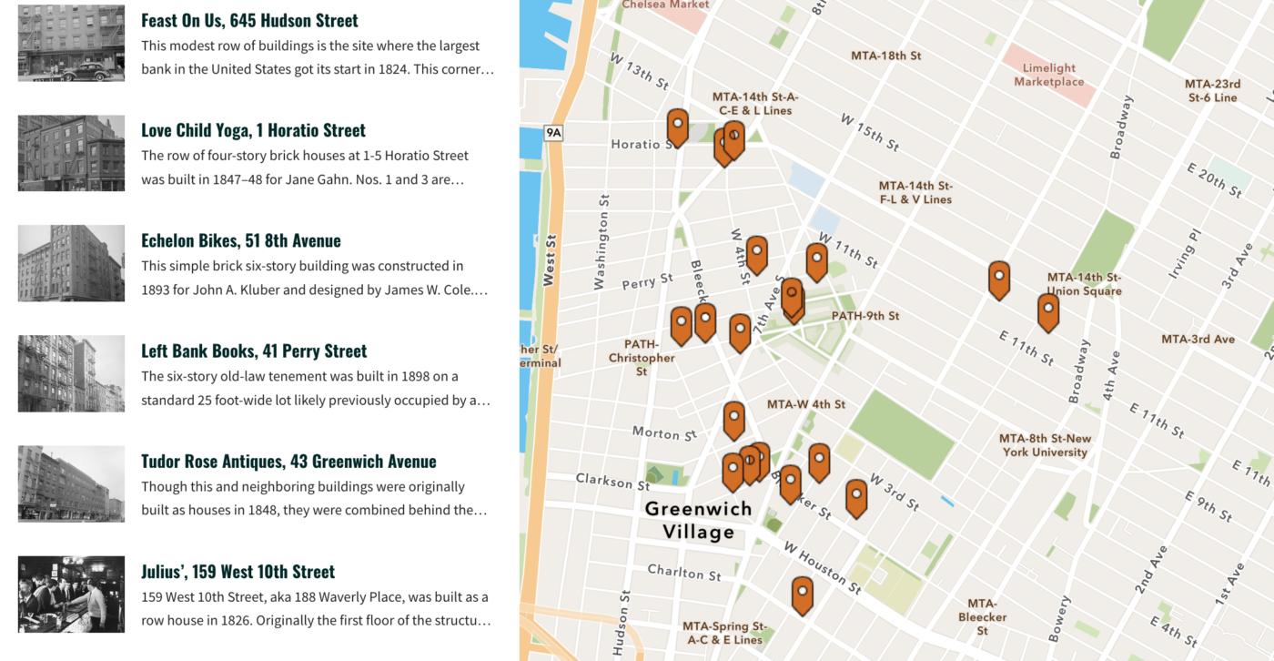 Small Business Big History map Screen Shot