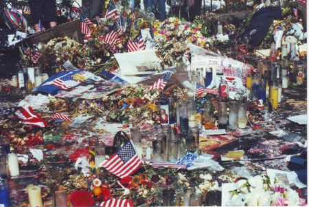 Marjorie Zien - 911 union sq memorial closeup