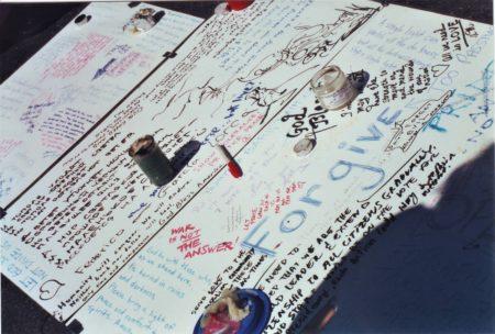Marjorie Zien - 911 union sq memorial signs