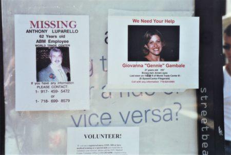 Marjorie Zien - 911 Missing signs in GV