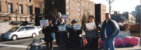 Lenore Mills- Chris, Ben, John, Marge, Carol, Peter, January 27, 2002