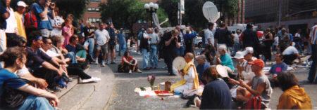 Lenore Mills- Union Square, September 22, 2001