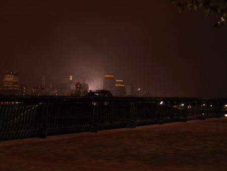 Charles Kramer- Views From Hoboken, Fires Still Burning (2), September 23, 2001