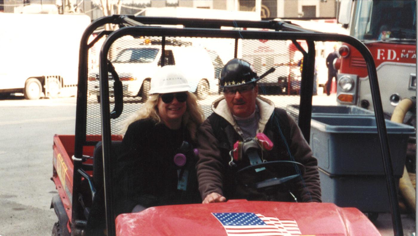 Barbara Wallace at Ground Zero