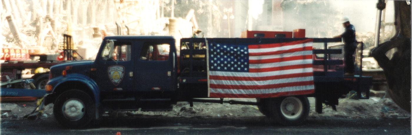 Corrections Department Truck at Ground Zero